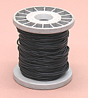 PVC Coated Copper Connecting Hookup Wire 100 ft Black