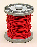 PVC Coated Copper Connecting Hookup Wire 100 ft Red