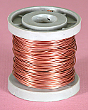Bare Copper Wire 24 SWG 4oz