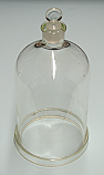 Bell Jar Glass Open Top 8 x 12 Inch