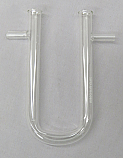 Drying Tube With Side Arm 100mm Long
