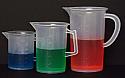 Beaker With Handle Plastic Jug 1000ml