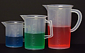 Beaker With Handle Plastic Jug 2000ml