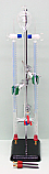 Hoffman Electrolysis Apparatus Glass Part And Electrodes
