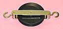 Pulley Single Plastic 50mm
