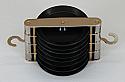 Pulley Plastic Quadruple Parallel 50mm