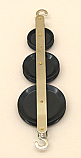 Pulley Plastic Triple Tandem 30-40-50mm