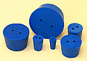 Rubber Stopper Size 00, 2 Hole