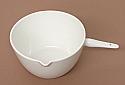 Porcelain Casserole, Basin with handle 50ml