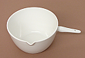 Porcelain Casserole, Basin with handle 100ml