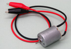 DC Motor with Alligator Leads