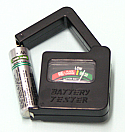 Battery Tester Handheld Square