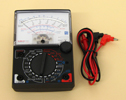 Multimeter Analog with Fuse & Diode Protection