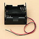 'C' Cell Double Battery Holder With Wire