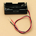'AA' Cell Double Battery Holder With Wire