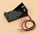 '9V' Cell Battery Holder With Wire