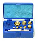 Weight Brass Set of 8, 1-50 gm