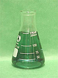 Erlenmeyer Flask Borosilicate Glass 125 ml pk of 12