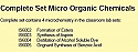 Complete Set Micro Organic Chemicals