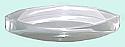 Acrylic Prism / Lens Convex 75 mm