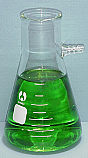 Filtering Flask Borosilicate Glass 100 ml cs of 48