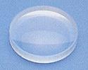 Lens Glass Double Concave 38 mm x 100 mm