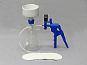 Filtering Kit 250ml, Vacuum Pump with Gauge