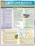 Bio Lab Basics Chart
