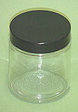 Glass Jar Wide Mouth 8 oz cs of 12