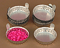 Aluminum Weighing Dishes Small pk of 100