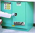 Justrite Sure-Grip EX Metal Acid Cabinet 22 Gallon 1 Shelf