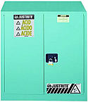 Justrite Sure-Grip EX Metal Acid Cabinet 45 Gallon