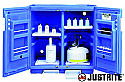Justrite Polyethylene Acid Cabinet