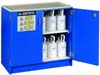 Justrite Nonmetallic Acid Cabinet 2 Door 1 Shelf