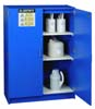 Justrite Nonmetallic Acid Cabinet 2 Doors 2 Shelves