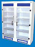 Chemical Storage Cabinet 10 Shelf Tall Vented