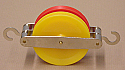 Pulley Plastic Double Parallel 50mm