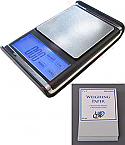 US-ABSOLUTE Touch Screen Digital Pocket Scale 200g x 0.01g, With Weighing Paper