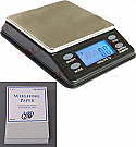 US-MINIBENCH Digital LCD Scale 1000g x 0.1g, With Weighing Paper