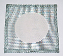 Wire Gauze Ceramic Center 4 Inch