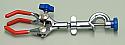 Clamp Condenser Three Finger Swivel Type