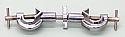 Clamp Holder Adjustable Swivel Large