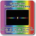 Diffraction Grating Slides-Linear 1000 Line/mm