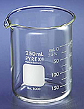 Pyrex Corning Glass Beaker 250 mL