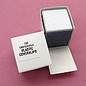 Plastic Cover Slips, 18x18mm pk 100