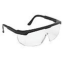 Econolite III Hi-Voltage ARC Safety Glasses, Black Frame