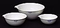 Evaporating Dish Porcelain Superior Quality Flat 80ml