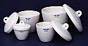 Crucible with Lid Superior Quality Tall Form 250ml