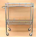 Lab Cart Stainless Steel 27 x 17 x 34.5 Inch