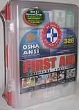 First Aid Kit 326 Pieces, OSHA - ANSI Compliant